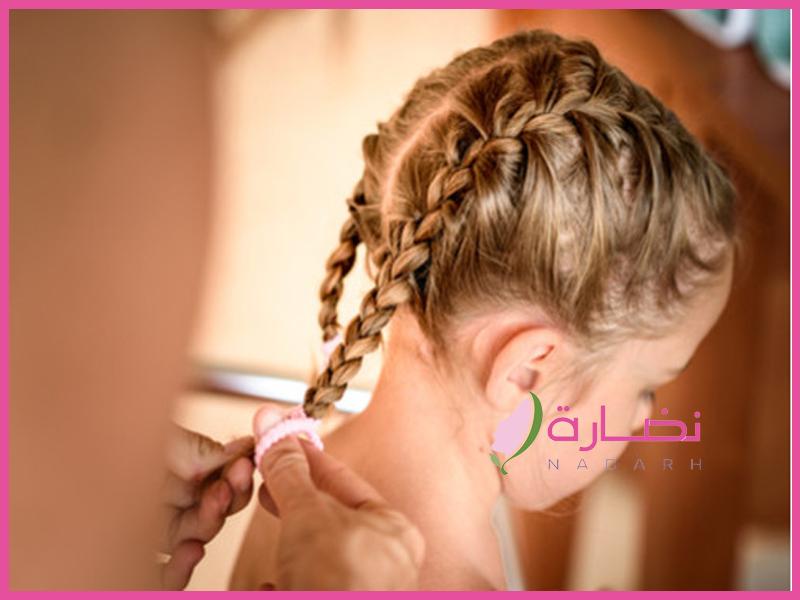 بالصور .. تعرفي معنا على أفضل تسريحات شعر للاطفال بالخطوات سهلة للعيد