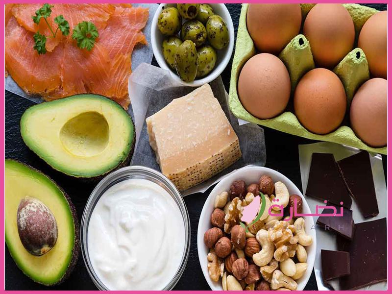 اكلات نظام الكيتو دايت keto diet